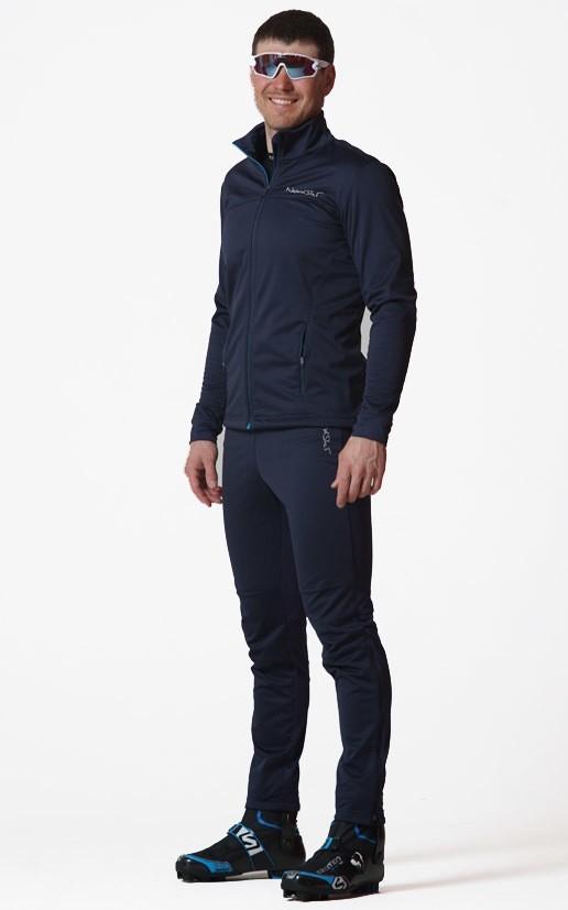 93317bccf2fbc Детский утеплённый лыжный костюм Nordski Motion BlueBerry NSJ437021 ...