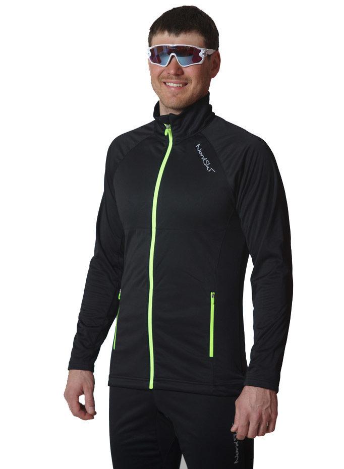 b78d60fb0f44 Элитная утеплённая лыжная куртка Nordski Elite Black 2019 NSM543100 ...