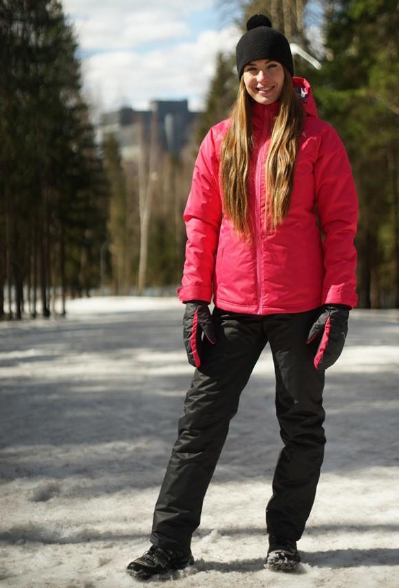 3b2ce146 Женский утеплённый прогулочный лыжный костюм Nordski Motion Raspberry