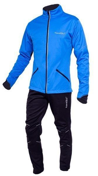 a70ba73d1ab3b Детский лыжный костюм Nordski Premium blue-black NSJ310700 купить в ...