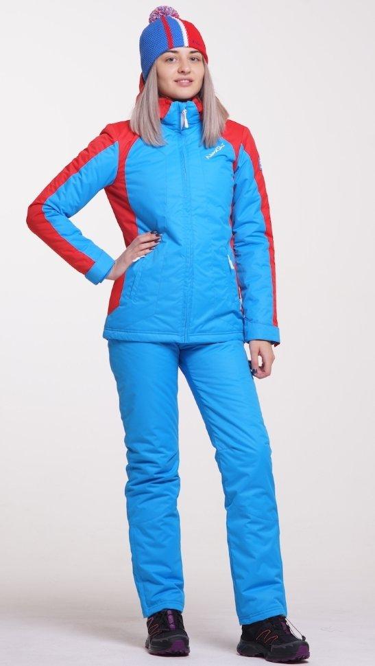 7fb49b51e3b3 Тёплый прогулочный лыжный костюм Nordski National женский NSW421790 ...