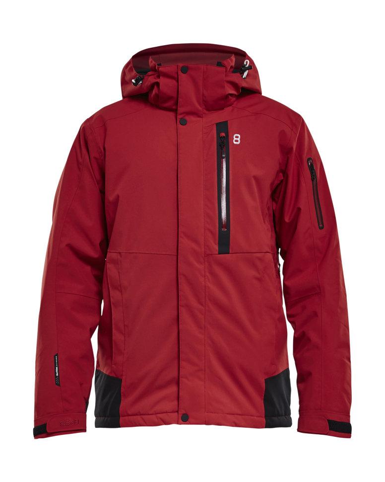 f9ba2bfc87e35 Горнолыжная куртка 8848 Altitude Joshua мужская красная 729603 ...