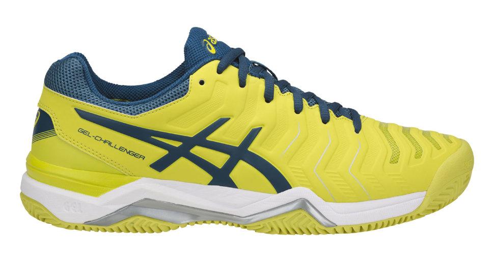 d2ebc9e0 Теннисные кроссовки Asics Gel Challenger 11 Clay желтые E704Y 8945 ...