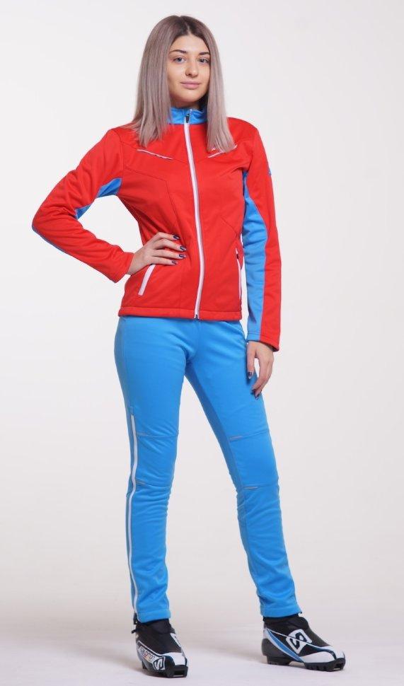 fd8e5b0fab43 Лыжный костюм Nordski National Red 2018 женский NSW436970 купить в ...